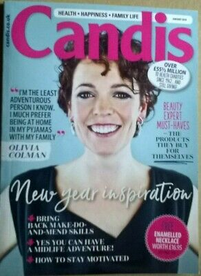 CANDIS UK Magazine January 2019, Olivia Colman cover & interview