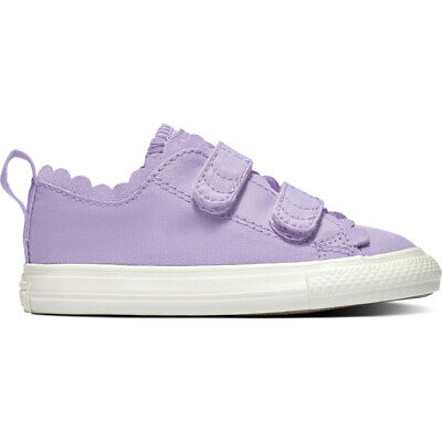 e740699beb74 Converse Chuck Taylor All Star 2V Frilly Thrills Ox Washed Lilac Canvas Baby