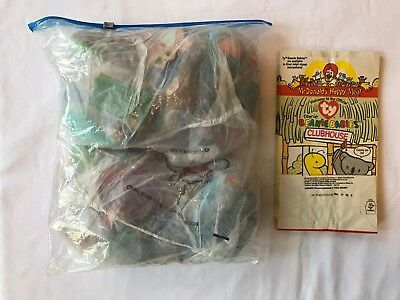 23df88ca97b McDonald s Ty Teenie Beanie Babies - 1998 + 1999 Sets plus Happy Meal Bags
