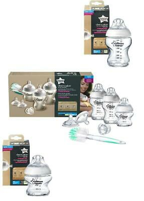 Tommee Tippee Closer to Nature Glass Bottles Newborn Starter Kit