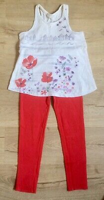 Mini Boden Fat Face Bundle 7-8 yr girl jeggings orange vest top summer leggings
