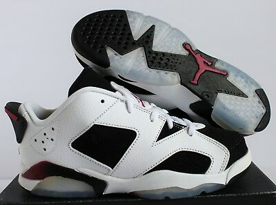 18cc24bb4a1a JORDAN RETRO 6 Low GP 768884-008 Ultraviolet Pre-school NWT NIB ...