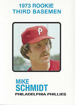 1973 Topps 615 Mike Schmidt Rookie Reprint Mint