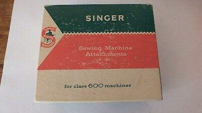 Singer Sewing Machine Attachments No.161794 for Class 600 Machines - Packed