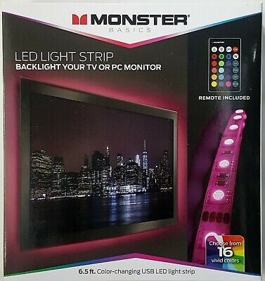 Monster LED LIGHT STRIP with REMOTE