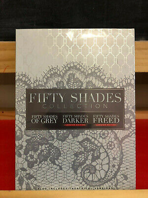 Fifty Shades of Grey + 50 Shades Darker + Freed Complete 3 Movies Set