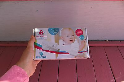 Brand New Adjustable Child Safety Locks - Easy to Install (No Drilling) Baby Pro