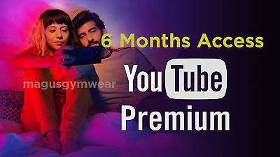 [200+ SOLD] YouTube Premium Red ( 6 MONTHS MEMBERSHIP ) w/ FREE YouTube Music