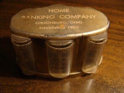 Vintage Coin Bank - Home Banking Co / Gibsonburg, OH