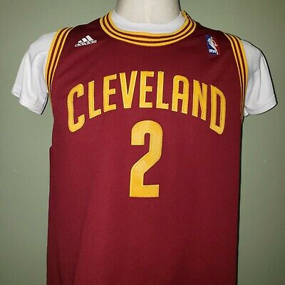 separation shoes 835d3 51d76 KYRIE IRVING CLEVELAND Cavaliers Cavs Youth Jersey Shirt #2 Stitched XL  Adidas