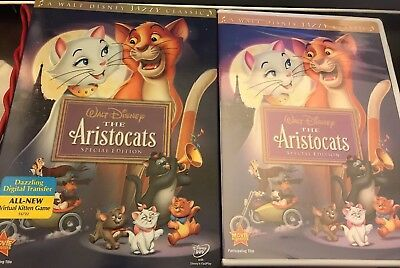 NEW Disney's The Aristocats DVD Special Edition Slipcase