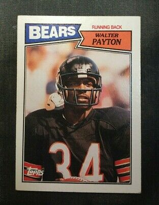 5ced23b42de WALTER PAYTON HOF EXTREMELY RARE Signed Bears Jersey 5 Career Stat ...