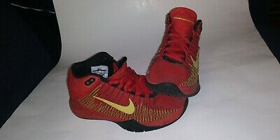 competitive price 6e44d fd58c Boys youth Nike zoom ascention sneaker color black and gold size 4Y