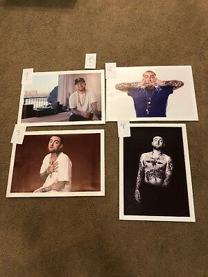 Mac Miller poster/ Canvases Printed/Posters Printed