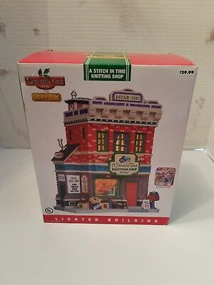 Lemax Coventry Cove A Stitch in Time Knitting Shop Christmas  Brand NEW in box