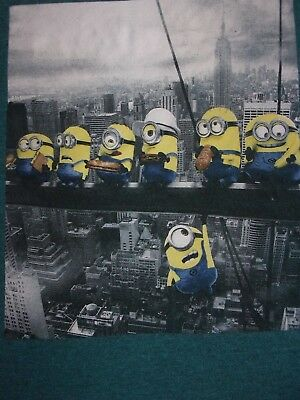 New Boys Despicable Me Minions T Shirt Size 10 12 Large Top Tee