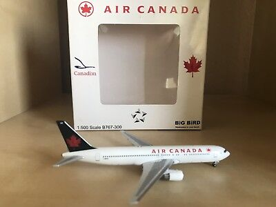 Air Canda Boeing 767-300 1:500 Scale Model By Big Bird