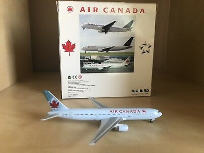 Air Canada Boeing 767-300 1:500 Scale Model By Big Bird