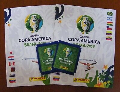 Panini Copa America Brazil 2019 Empty Album x 2 Chile Version Chilean Edition
