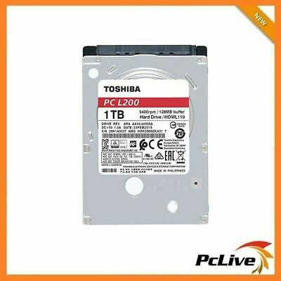 "NEW TOSHIBA 1TB Laptop Hard Disk Drive 128MB Cache 2.5"" SATA PS4 HDD 7MM PC L200"