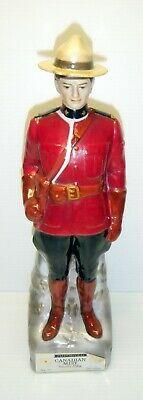 1968 Canadian Mist Canadian Mounty Empty Whisky Decanter