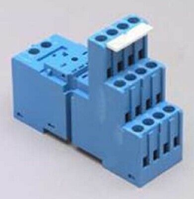 Finder CONTROL RELAY BASE 2xC/O 8-Pins Flat, For 55.32 & 99-02 LED Modules