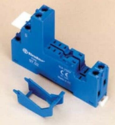 Finder DIN-RAIL MOUNTING SOCKET 250V 10A For 46.52 Series Relay,Screw Connection