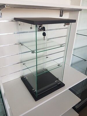 CHEAP Lockable Counter Top Glass Display Cabinet. Available Now. Be quick!!!