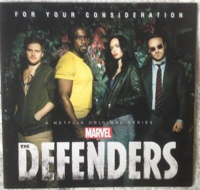 Marvel Defenders Mike Colter K Ritter Netflix FYC Emmy Promo DVD 3 Episodes 2018