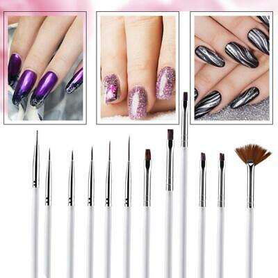 DIY Nail Art Painting Drawing Design Polish Brushes Dotting Pen Tool Set Kit