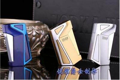 3 pcs Boutique Gift Unique Design Windproof Jet Torch Butane Cigarette Lighter