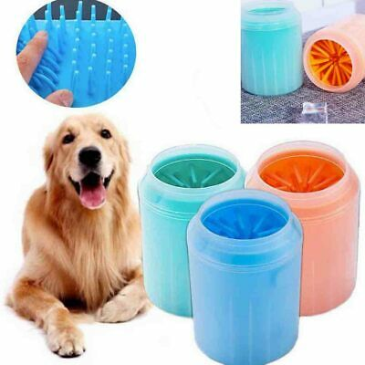 Hot Portable Cup Dog Foot Cleaner Feet Washer Brushes Dog Paw Pet Cleaning Brush