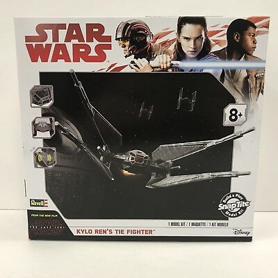 Revell - Star Wars The Last Jedi Kylo Ren's Tie Fighter Build & Play Model Kit #