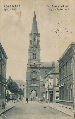 CPA - Belgique - Roeselare - Roulers - Eglise St-Amand