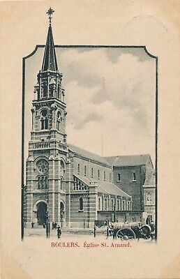 CPA - Belgique - Roeselare - Roulers - Eglise St. Amand