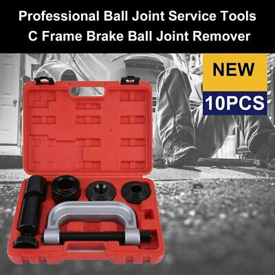 10PCS Ball Joint Removal-Installation Tool with 4 wheel Drive Adapters