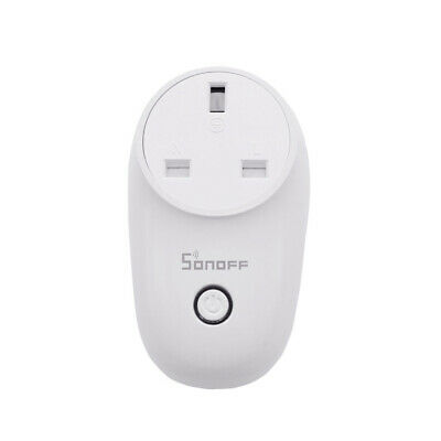 Sonoff S26 Smart Timer Socket Plug WIFI Wireless Remote Ctrl For TFTTT Home UK8