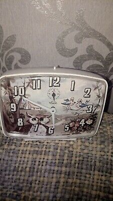 Vintage Smiths Clock with moving owl eyes perfect working order