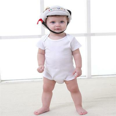 Infant Baby Toddler Safety Head Protection Helmet Kids Hat For Walking Crawl ONE