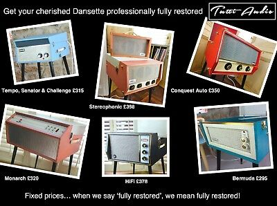 Dansette Record Player Refurbishment Service By Tutti Audio From Only £295