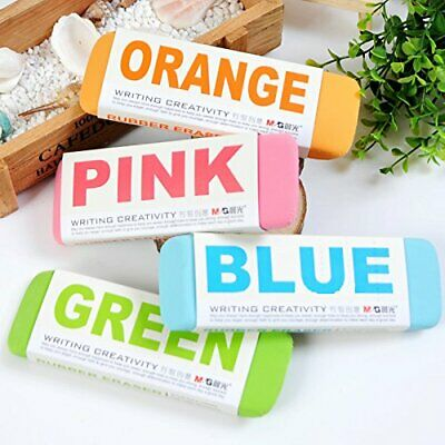 Ultralarge Colourful Rubber Erasers