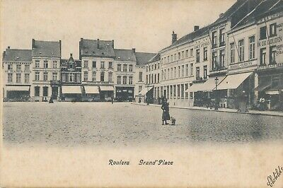 CPA - Belgique - Roeselare - Roulers - Grand'Place