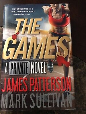 The Games A Private Novel Hardcover Book With Dust Jacket - James Patterson
