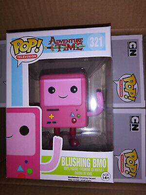 FUNKO POP ADVENTURE Time Blushing BMO Pink 321 Vaulted Mint