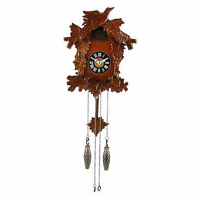 Widdop Wooden Traditional Cuckoo Clock W6754