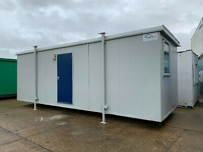Portable Cabin, Site Toilet, Drying Room, Steel Cabin, 24 x 9 (808)