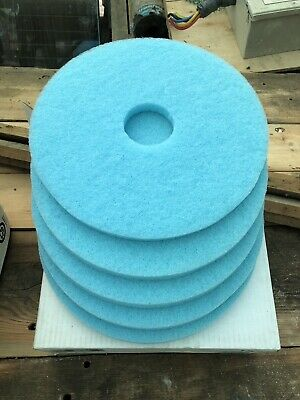 "Floor Buffer Pads 15"" Blue Ice (soft) X 15"
