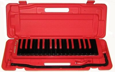 Hohner Melodica Fire - rot, Student 32 Serie, Etui