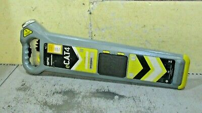 e-CAT 4 Cable avoidance tool Detector scanner locator cat no genny cables pipe