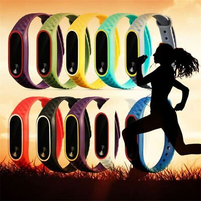 Silicon Wristbands Replacement Wrist Bands Wrist Strap For XIAOMI MI Band 2